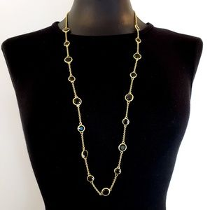 kate spade Jewelry - NWOT! kate spade necklace green brown glass stones